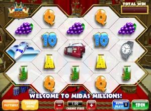 Midas Millions Slots Screenshot
