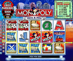Monopoly Slots Here and Now Screenshot