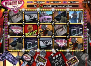 Roland Rat Slots Screenshot