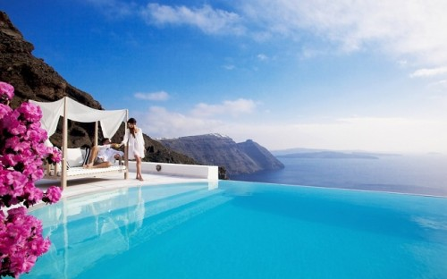 Santorini Greece Beautiful View