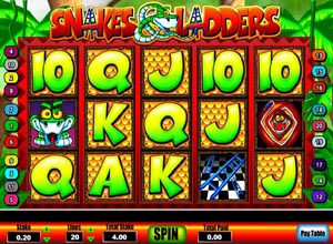 Snakes and Ladders Slots Screenshot