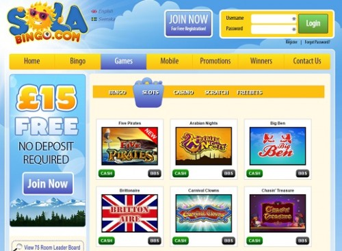 Sola Bingo Lucky Ladies Monkey Bingo New Bingo Site