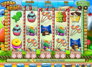 Sugar Train Slots Screenshot