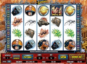 Superman Slots Screenshot