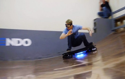 Tony Hawk rides world's 1st REAL hoverboard – Welcome to the Future!