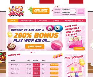 Tuck Shop Bingo Screenshot