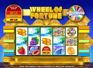 Wheel of fortune slots screenshot