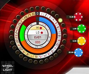 Wheel of Light Roulette Screenshot