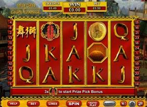 Wu Shi Lion Dance Slots Screenshot