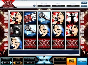X Factor Slots Screenshot