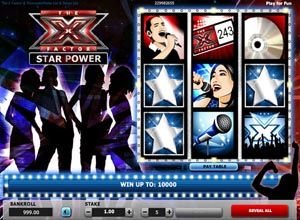 X Factor Scratch Cards Screenshot